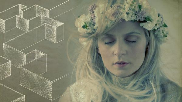 Eivør, con la imagen artística de su último disco, 'Room'