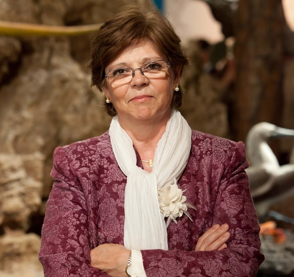 Elvira Mata, subdirectora del MMB y coordinadora de la éxposición