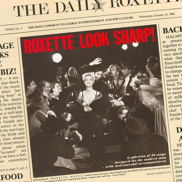 Portada de 'Look Sharp!', segundo álbum de estudio de Roxette