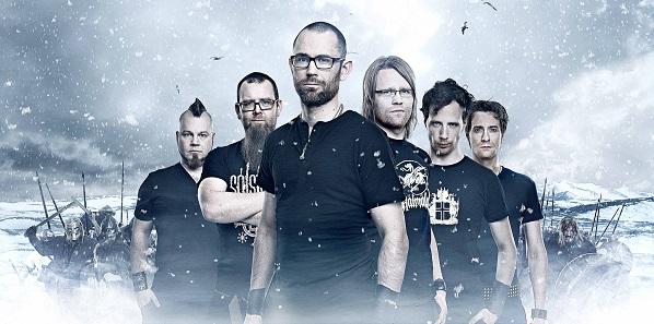 El sexteto islandés de viking metal Skálmöld