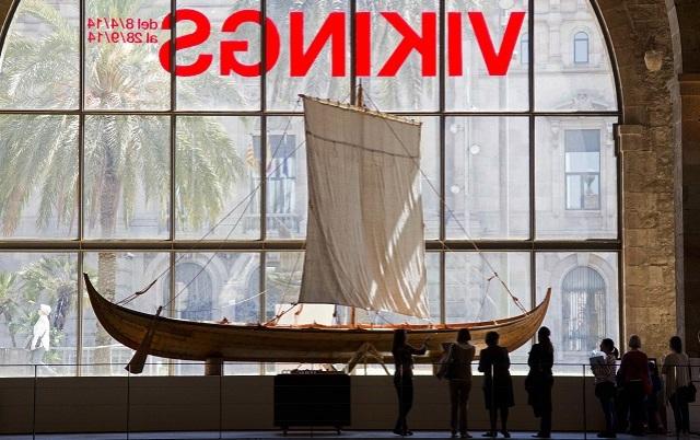 LOS VIKINGOS DESEMBARCAN EN EL MUSEO MARÍTIMO DE BARCELONA