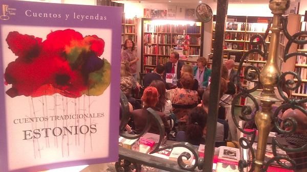 Presentación de 'Cuentos tradicionales estonios' en Madrid