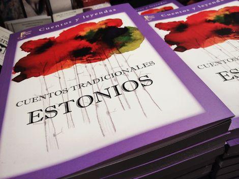 Portada de la reedición de 'Cuentos tradicionales estonios'