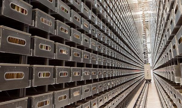 Bunker de la Nasjonalbiblioteket en Mo i Rana. Foto: Trond Isaksen/Statsbygg Arkitekt