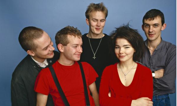 Björk y los Sugarcubes en 1986. Foto: Ilpo Musto/REX