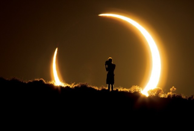 Eclipse solar - Hemisferio Boreal