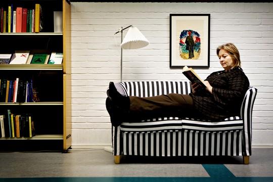 Tine Vind, en un retrato de Stine Larsen