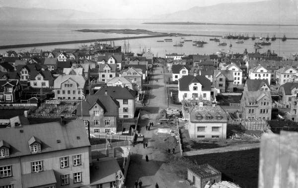 Panorámica de Reykjavík en 1930. Foto: pressan.is