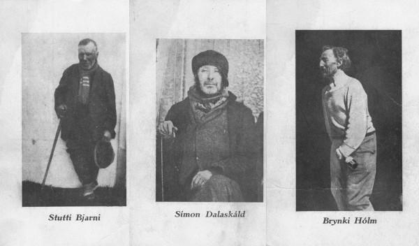 Algunos de los vagabundos retratados. Imágenes cedidas por Þórunn Jónsdóttir para The Reykjavík Grapevine