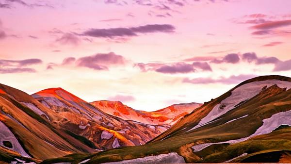 Luz del Sol de medianoche en Islandia. Foto: Joe Capra/Scientifantastic