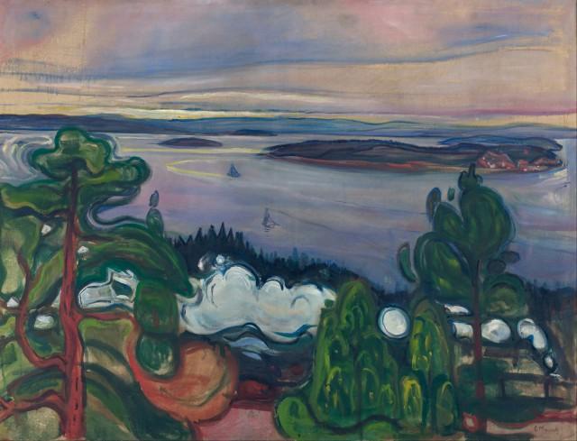 Edvard Munch - Hemisferio Boreal