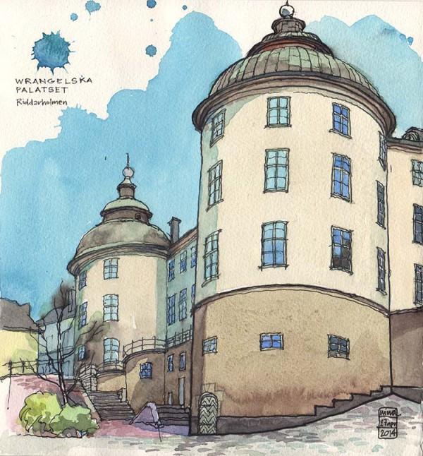 Palacio Wrangelska, Riddarsholmen, Estocolmo. Nina Johansson