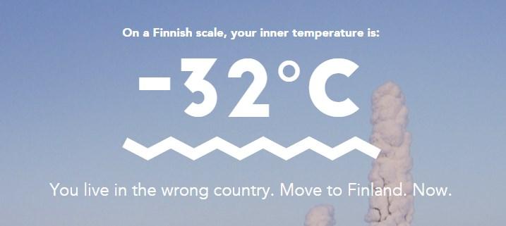 Finnometer - Hemisferio Boreal