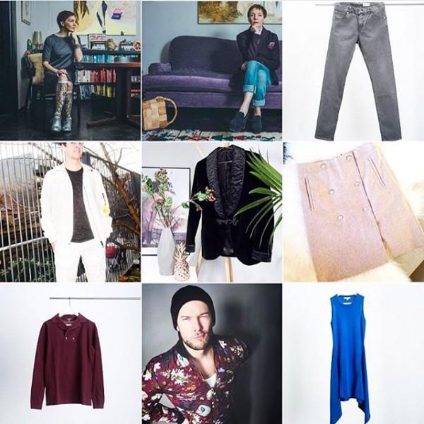 Montaje en Instagram por @gullholmer con algunas de las prendas y sus primeros usuarios.