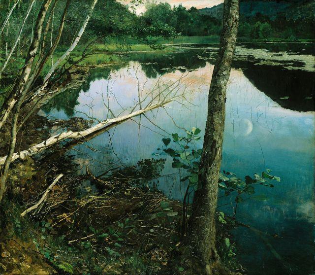 Eilif Peterssen - Hemisferio Boreal