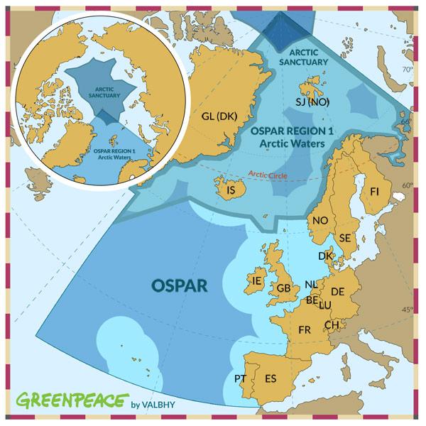 Ospar - Hemisferio Boreal
